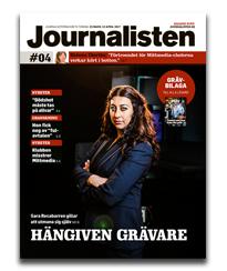 Journalisten omslag